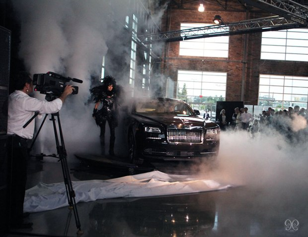 Rolls Royce Behind the Scenes - Amanda Bond Makeup